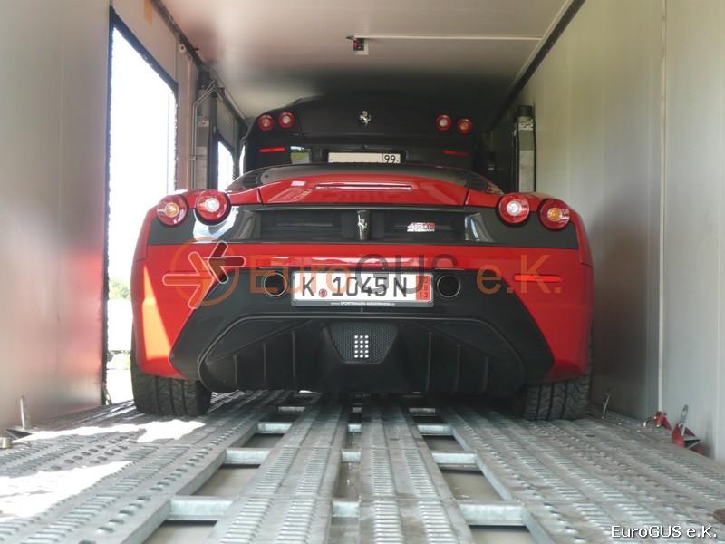 Крытый автовоз из Германии