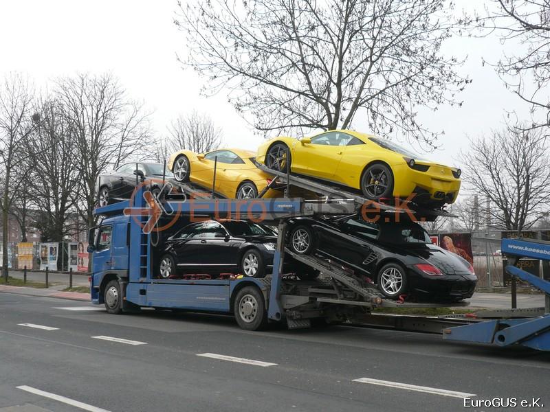 перевозка, автовоз из Германии