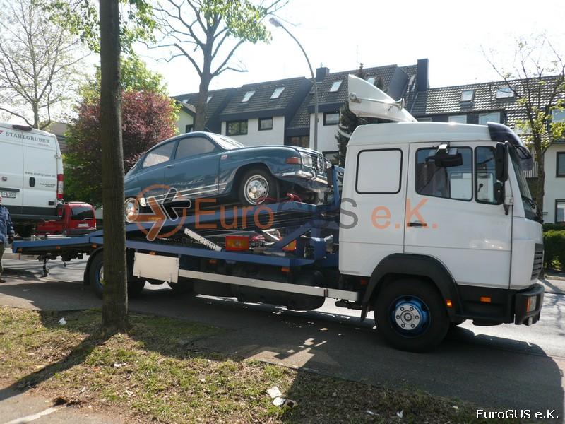 Доставка раритетных автомобилей из Европы
