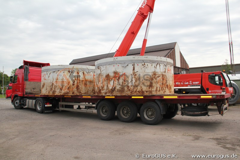 фундамет ветряка, доставка из германии в казахстан