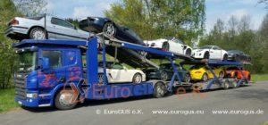 Перевозка авто из Германии в Москву, открытый автовоз
